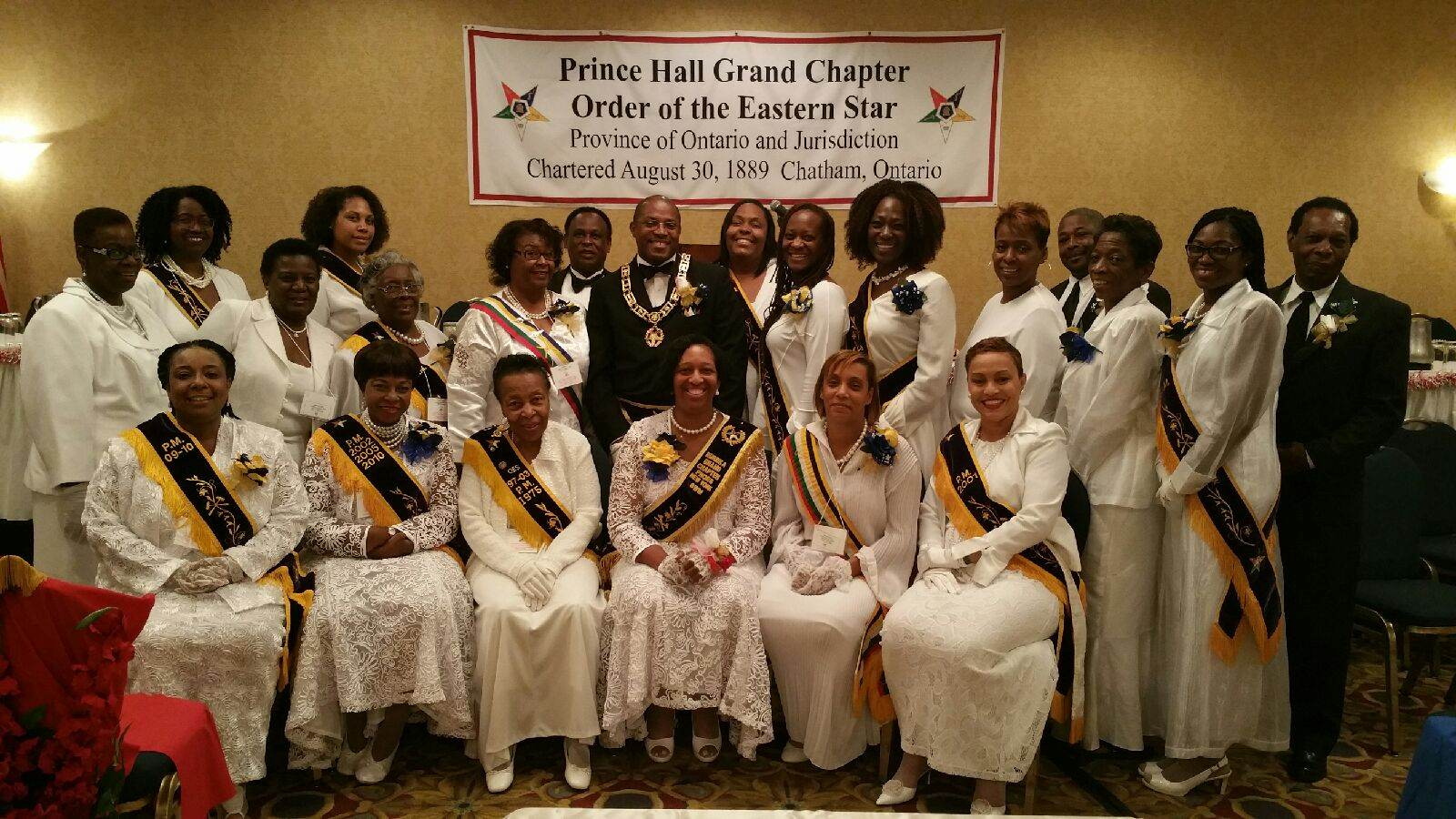 Prince Hall Grand Chapter Visitation - Ontario